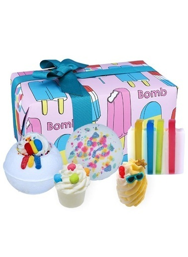 Bomb Cosmetics Anything is Popsickle Hediye Paketi Renkli